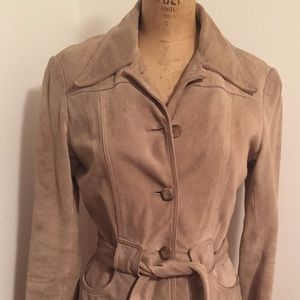 Aritzia Talula Babaton Suede Jacket M fits like S